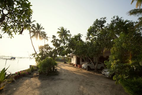 The Riveroots Waterfront Homestay.