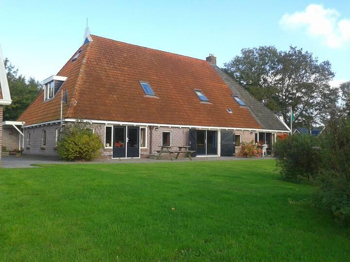 B & B met 2 kamers woonboerderij.