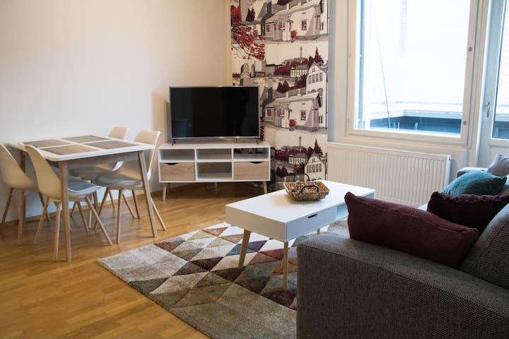 Comfy apartment in centre of Vaasa