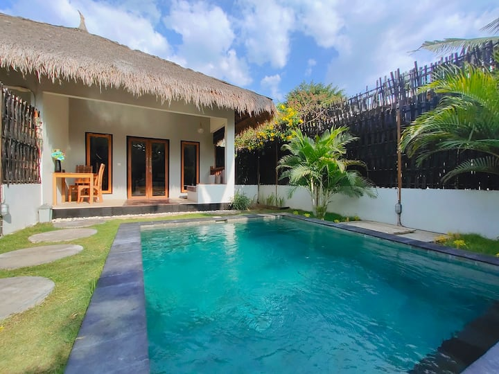 Tropical Villa 1 BR with Private Pool ( Gili Air )