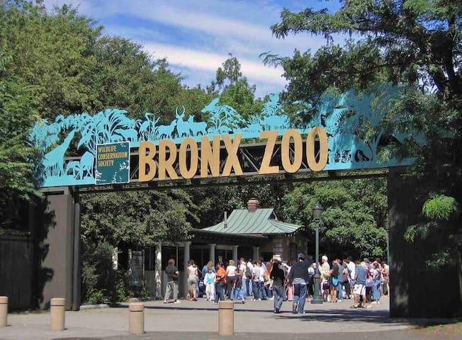 Bronx Zoo just 2.7 miles away from property