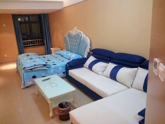 济南天桥区堤口路豪华酒店式公寓,日租起 - Jinan