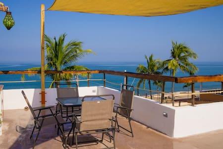 Ocean View Apartment in Casa las Velas La Peñita 3