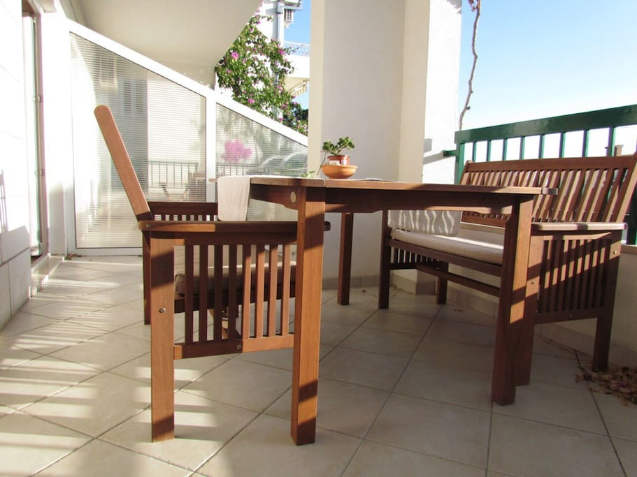 Balcony dining furniture