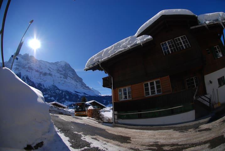 gemütliche ferienwohnung im chalet - Grindelwald - Apartment