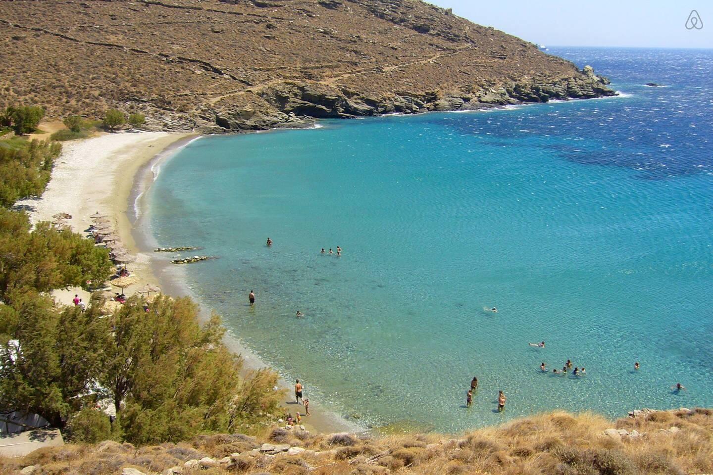 Best beach of the island under your feet