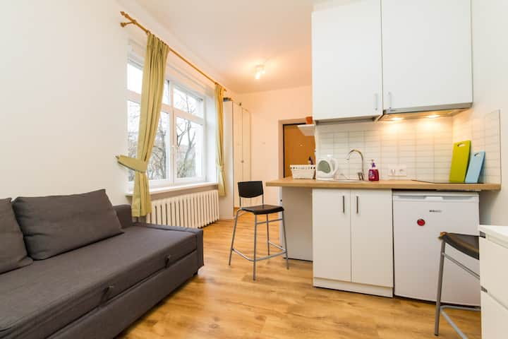 Vilnius center apartment, Junior
