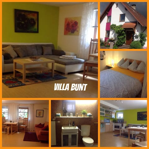 Fewo Villa Bunt nahe Legoland - Günzburg - Lägenhet