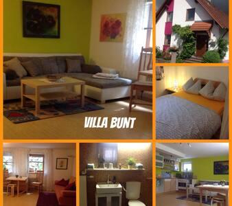 Fewo Villa Bunt nahe Legoland - Günzburg - 公寓
