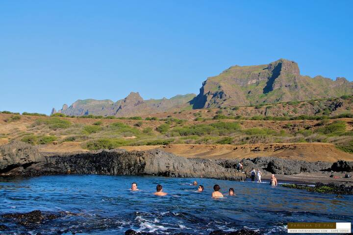 NATURAL POOL in Praia Branca