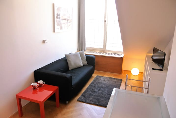 NEW! Letna Duplex apartment (Just walk!)