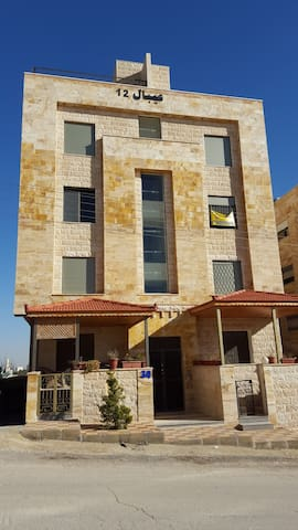 A spacious 3-Bedroom flat in Northern Amman - Amman - Apartemen