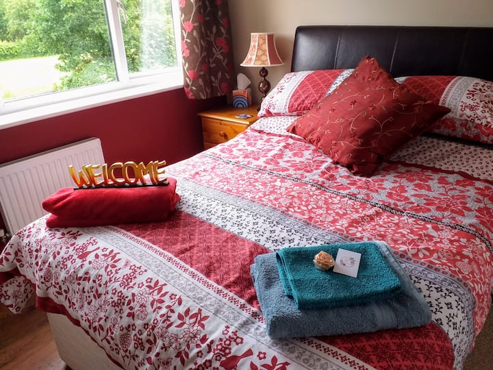 Two lovely double rooms, with bathrooms. Loft room