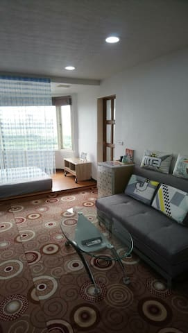 西門町河景2人房-Ximending river view double room