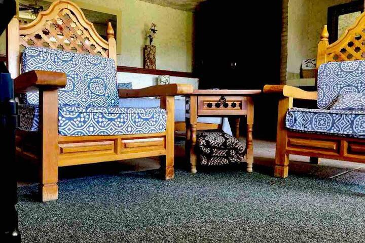 Acogedora habitación tipo cabaña en Villa Bonita