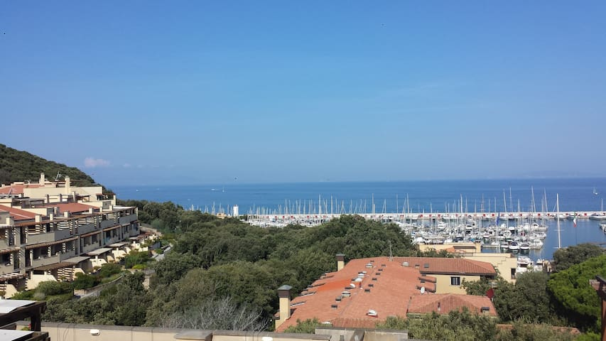 splendida vista sull'arcipelago - Punta Ala - Apartmen