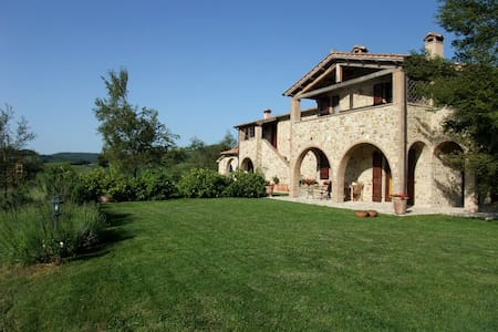 Leccio,border betwen Umbria,Tuscany - Fabro - Apartamento