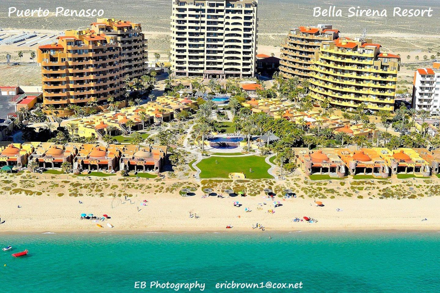 Upscale Beachfront Resort - the most amenities in the entire town...Luxury!
