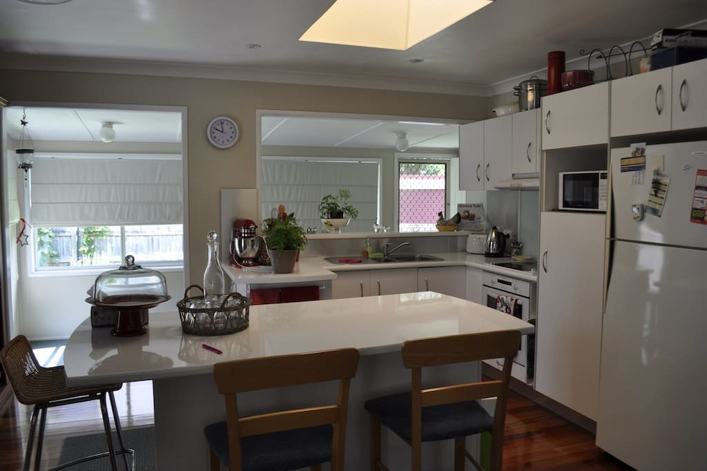 Kitchen with bench seating