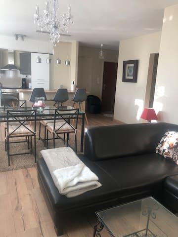 Grand appartement rénové et  tout équipé.