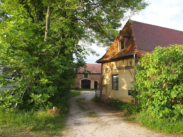 Large country house in Bearn - Saint-Médard - Huis