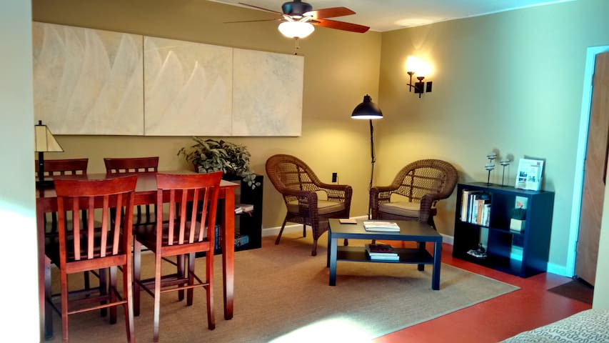 Dwntwn Bicycle Friendly Studio Apt - Colorado Springs - Apartamento