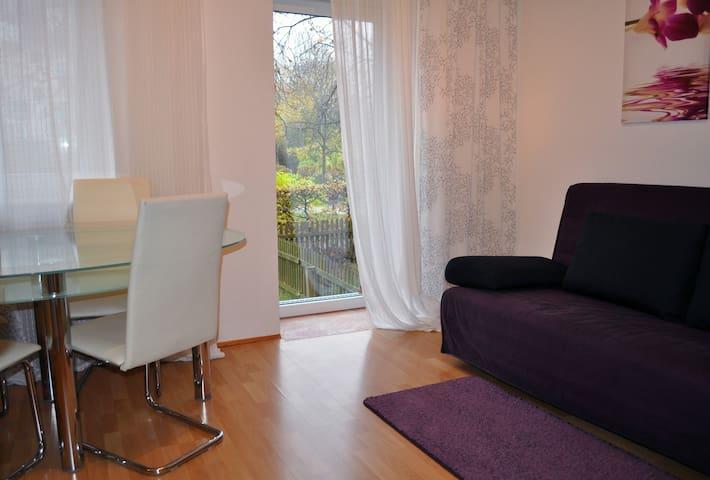 Modern flat btw. Munich+Bav. Lakes - Kaufbeuren - Departamento