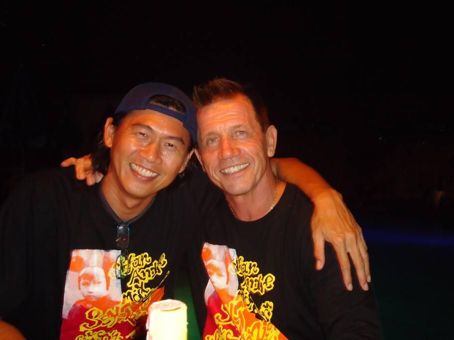Die Gastgeber Nop & Lothar
