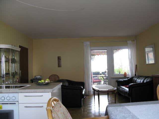 Ruhige moderne Wohnung in  bester Lage - Offenburg - Apartemen