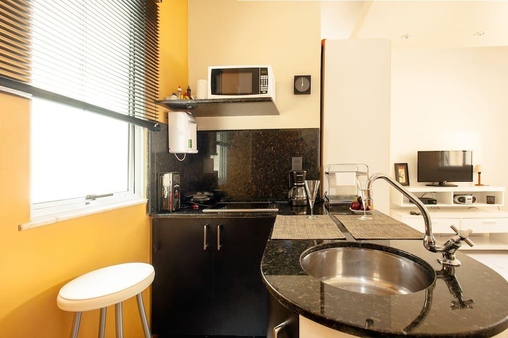 Cozinha moderna e funcional
