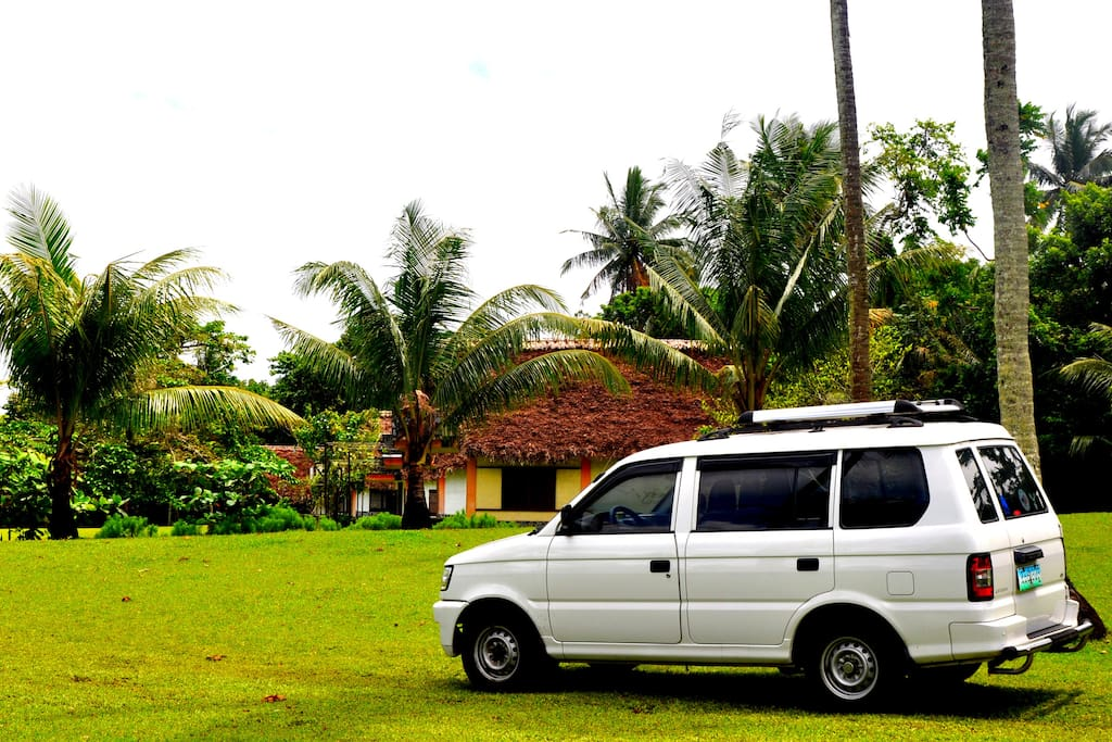 Van for rental with driver
