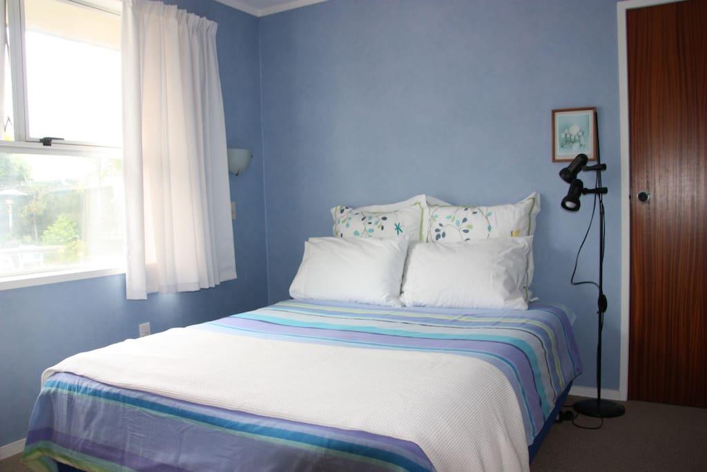 Very comfortable queen size bed Bedroom 2