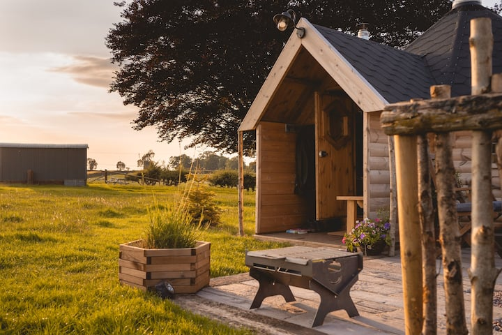 The Woodsman's Cabin in rural Staffordshire