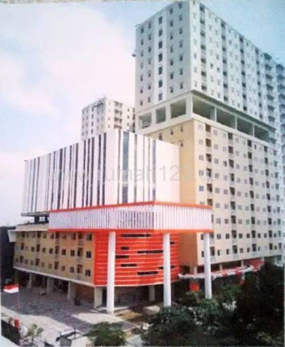 Strategist apartment in bogor apartments for rent in for Kitchen set bogor