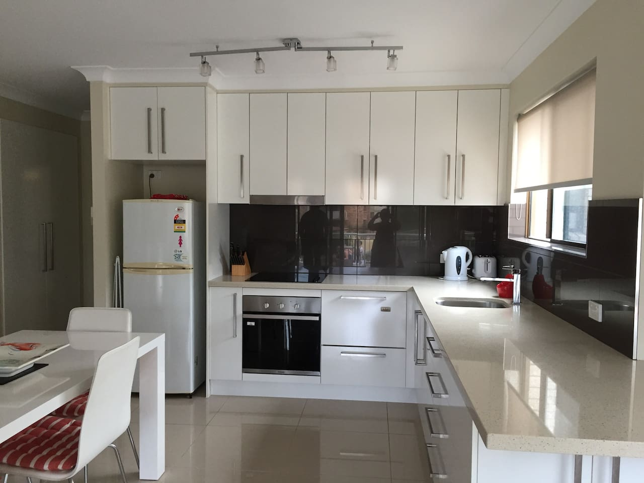 modern kitchen with all amenities