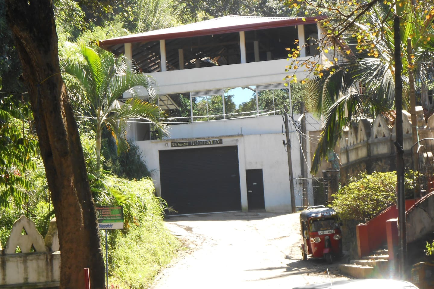 Front view of Pranobaahomestay