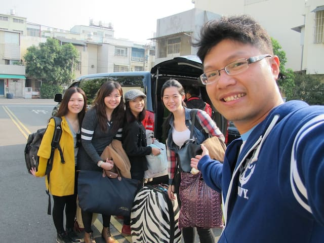 (1F)溫馨的背包客棧,北高雄,可停車,交通方便,離高鐵站,高速公路交 - Renwu District