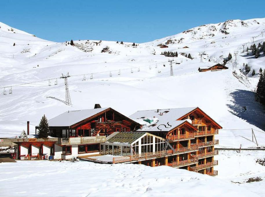 Portes du soleil crosets 4 pers terrasse flats for rent in les crosets valais switzerland - Portes du soleil horaires ...