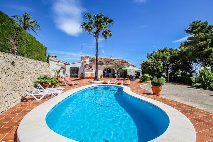 Finca Coello - charming, Spanish finca style holiday villa in Benissa