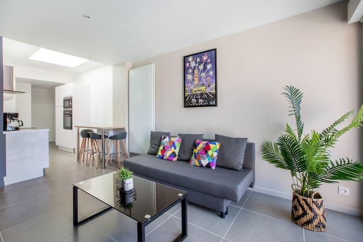 Bel appartement neuf avec grande terrasse