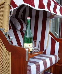 Ferienwohnung Meerblick Strandvilla - Breege - Apartmen