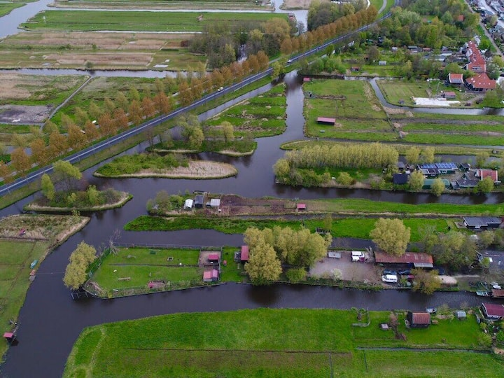 Gedeelte van Woonboerderij Dichtbij Amsterdam