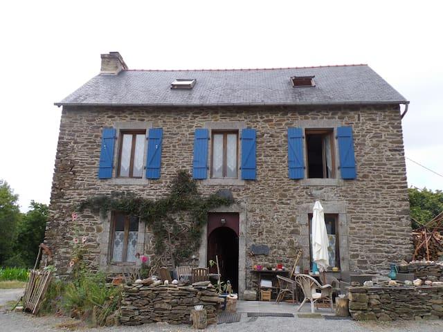 Chambre chez l'habitant 3 - Lopérec - Casa