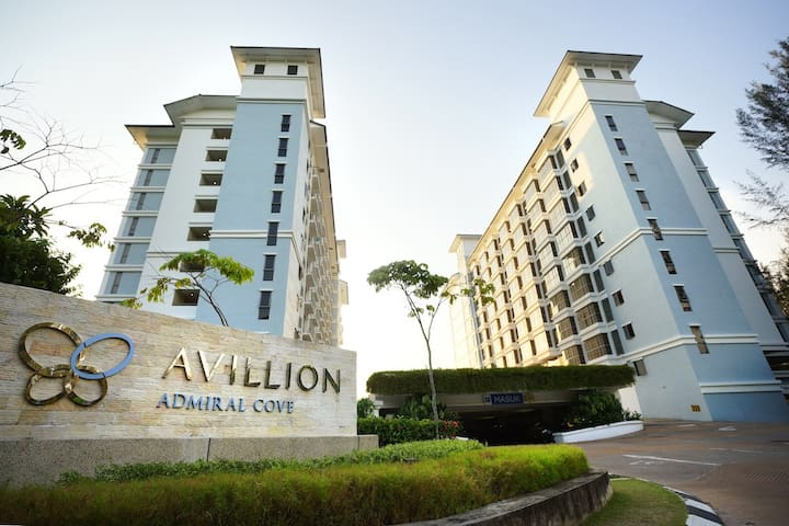 PD Avillion Admiral Cove 4*Hotel海中天 - Port Dickson - Byt