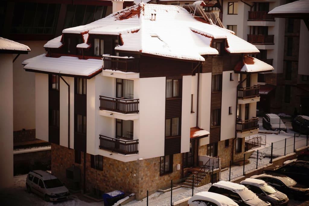 Near the Gondola