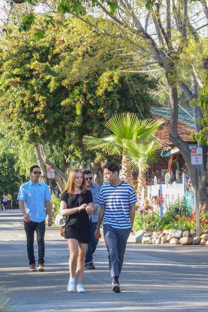 Stroll the oldest  California street