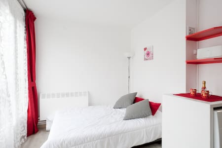 ⭐ Nice little flat at PAris 13 Door, 20 m Metro