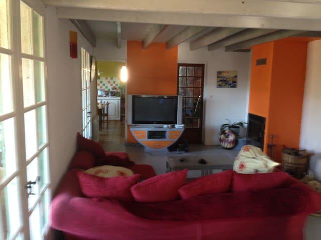 chambre chez l'habitant au calme - Urgosse - Rumah