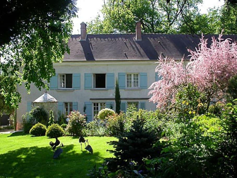Main house seen from garden