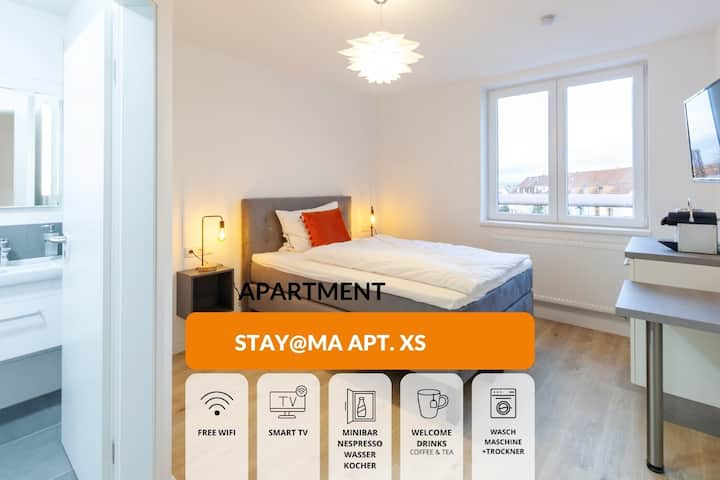 Neues Boardinghaus STAY@MA Einzelzimmer/Minibar